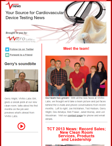 ViVitro Labs Vnews Fall 2013