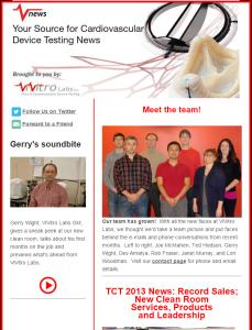 ViVitro Labs Vnews Fall 2013