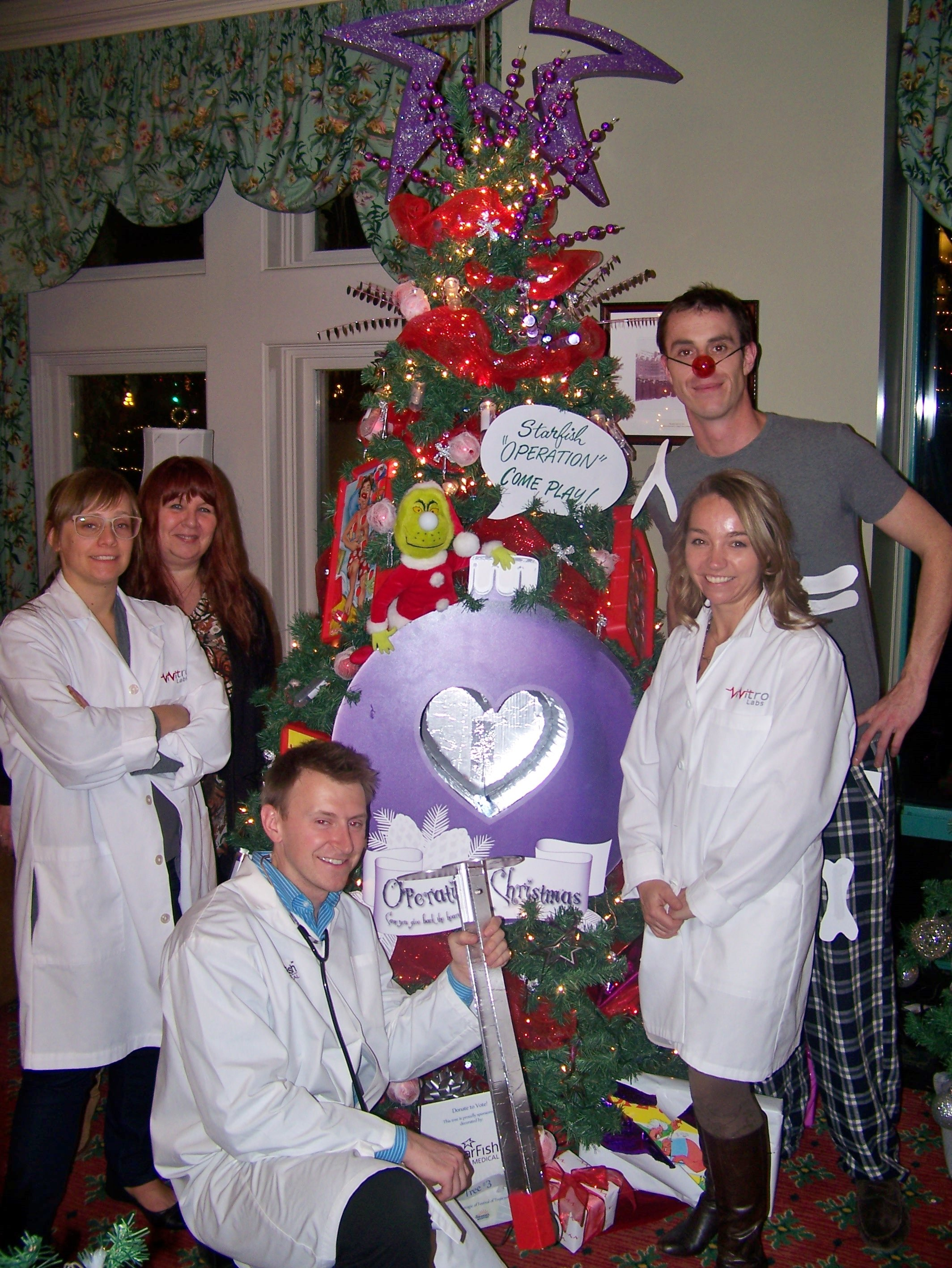 operation christmas u201d for festival of treesvivitro labs