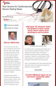 cardiovascular device testing news