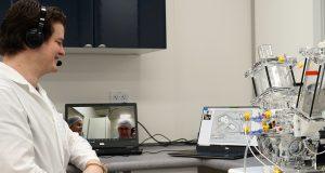Matt Campbell trains Prof. Leon Neething online.